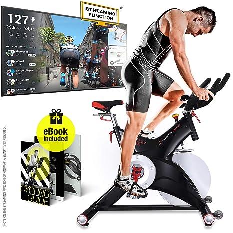 Bicicleta estática Sportstech SX500 con control a través de ...