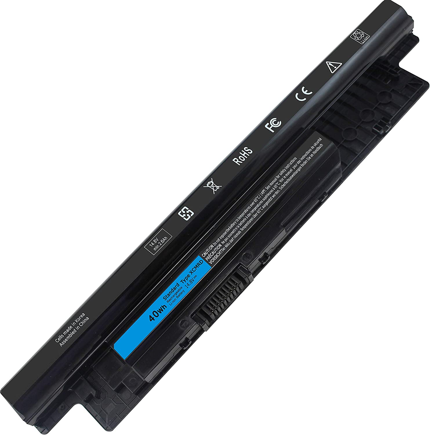 Shareway XCMRD Laptop Battery Compatible with Dell Inspiron 17R 5737 5721 17 3721 3737 15R 5537 5521 15 3521 14R 5421 5437 14 3421 Vostro 2421 2521 P/N: MR90Y 0MF69 VR7HM