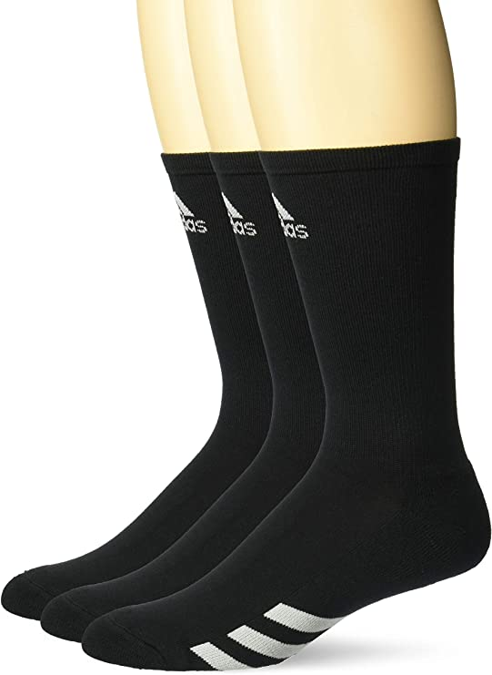 adidas Golf Men's 3-Pack Crew Sock