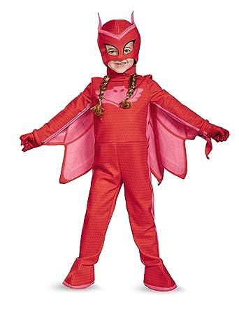 PJ Masques owlette Deluxe Costume enfant - rouge - M
