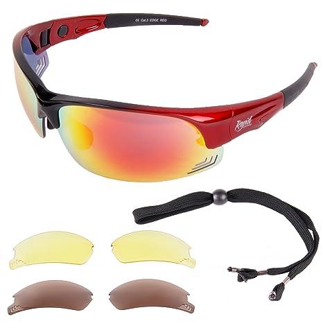 New Men/'s Polarized Sunglasses Sport Wrap Around Mirror Driving Eyewear Glasses