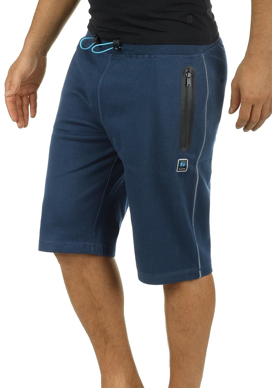 BLEND ATHLETICS Luco Herren Sweat-Shorts Kurze Hose Bermuda-Shorts aus Hochwertiger Baumwollmischung Meliert