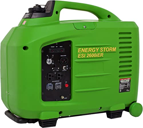 Lifan Energy Storm ESI 2600iER-CA, 2600 Running Watts 2800 Starting Watts, Gas Powered Portable Generator
