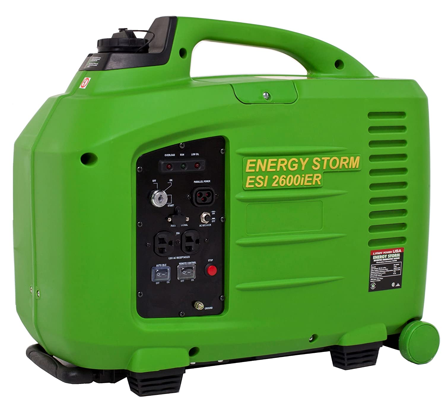 Amazon Lifan Energy Storm ESI 2600iER CA 2600 Running Watts