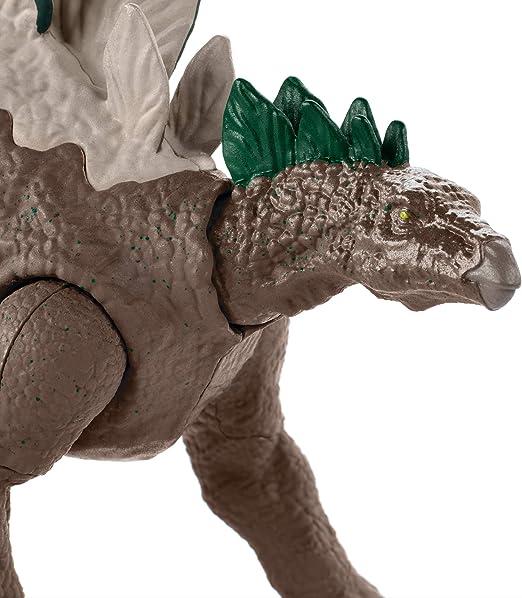 Stegosaurus Mega doble ataque Dinosaurio Jurassic World GDL06 Dino rivales