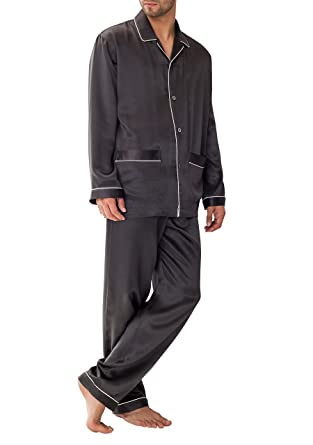 1d60a5d961 Zimmerli Men s Woven Silk Pajama Nightwear at Amazon Men s Clothing ...