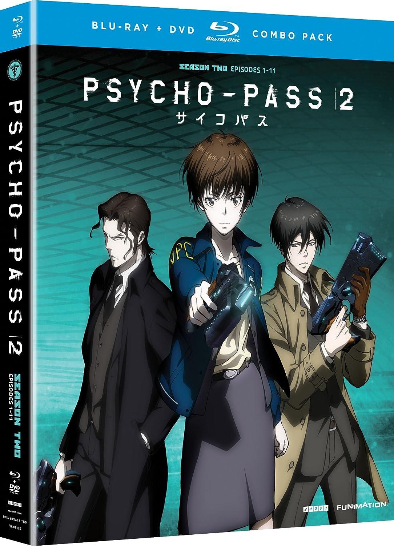 Amazoncom Psycho Pass 2 Season 2 Blu Ray Robert Mccollum Alex