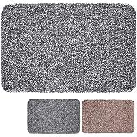 """Large Indoor Super Absorbs Mud Doormat 36""""x24"""" Latex Backing Non Slip Door Mat"""