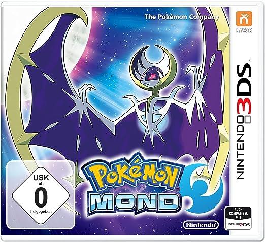 Nintendo Pokemon Moon Básico Nintendo 3DS Inglés, Francés vídeo - Juego (Nintendo 3DS, RPG (juego de rol), RP (Clasificación pendiente)): Amazon.es: Videojuegos