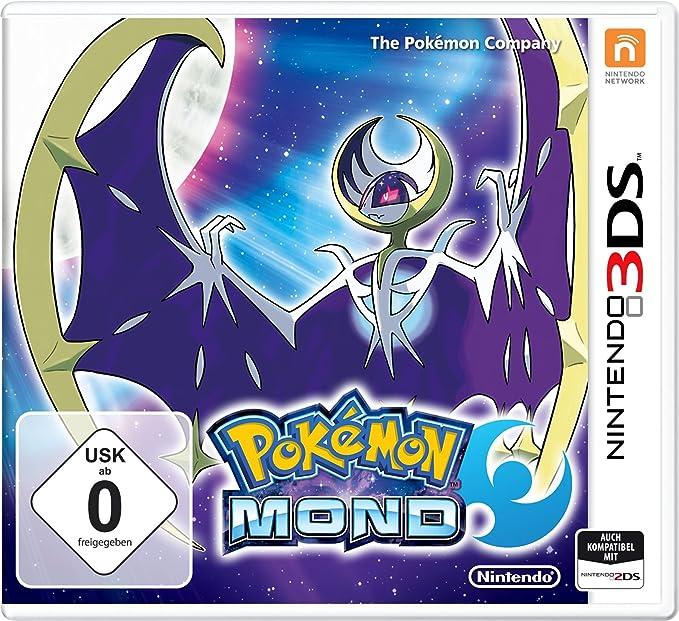 Nintendo Pokemon Moon Básico Nintendo 3DS Inglés, Francés vídeo ...