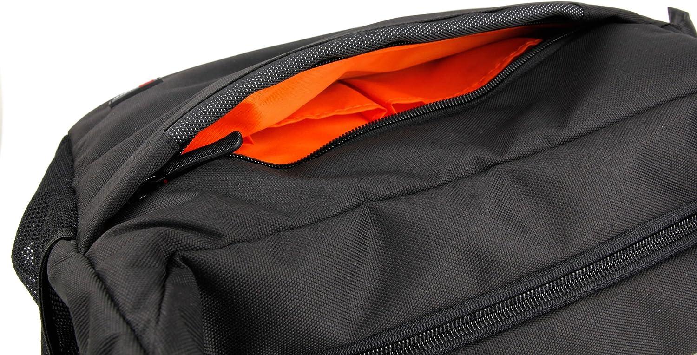 Resistente Al Agua con Compartimentos DURAGADGET Mochila//Bolso Bandolera para C/ámara Fujifilm FinePix S4500