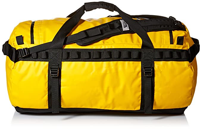 940e4d75f The North Face Base Camp Duffel Bag - Summit Gold/TNF Black, Large ...