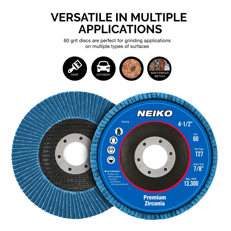5 x 7//8 25 Pack Mercer Industries 308036 36 Grit Zirconia Resin Fiber Discs