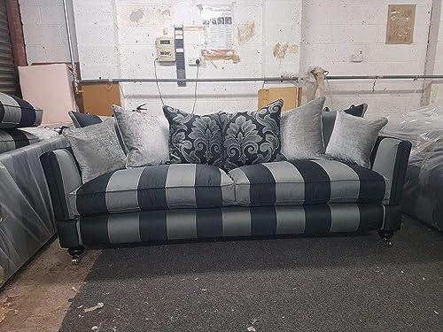 Excellent Victorian Style Drop Arm Drop End Knole Sofa With Finials Inzonedesignstudio Interior Chair Design Inzonedesignstudiocom