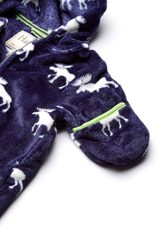 Hatley Baby Boys Fuzzy Fleece Bundlers