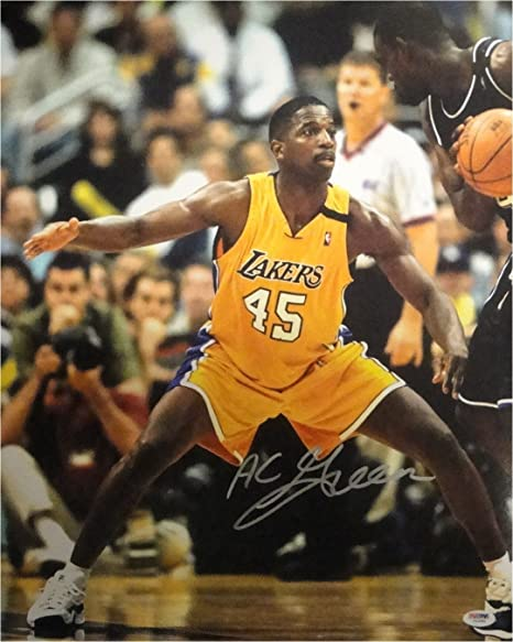 0b11a014541 AC Green Signed Autographed 16x20 Photograph Los Angeles Lakers A.C. PSA DNA  50