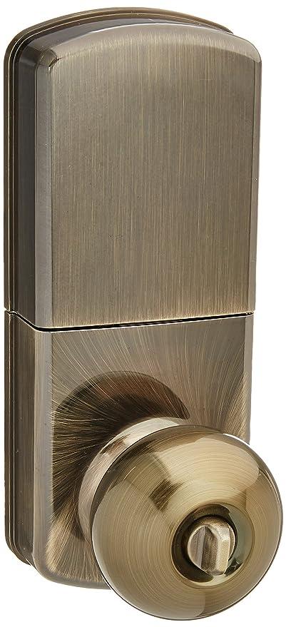 milocks wkk-02aq Digital Pomo con cerradura para puerta con entrada sin llave a través