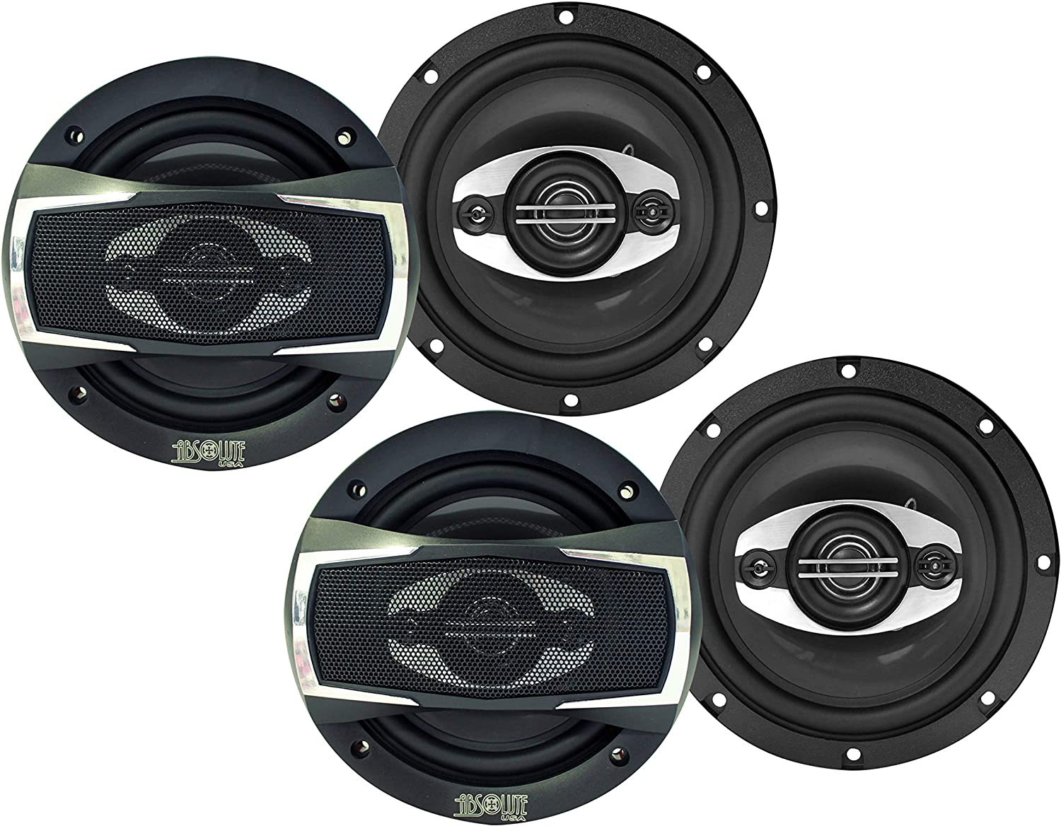 Absolute USA BLS6503-HSB524 2 Set of 6.5 Speakers Compatible with Honda Civic 2006-2011 Factory Speaker Replacement