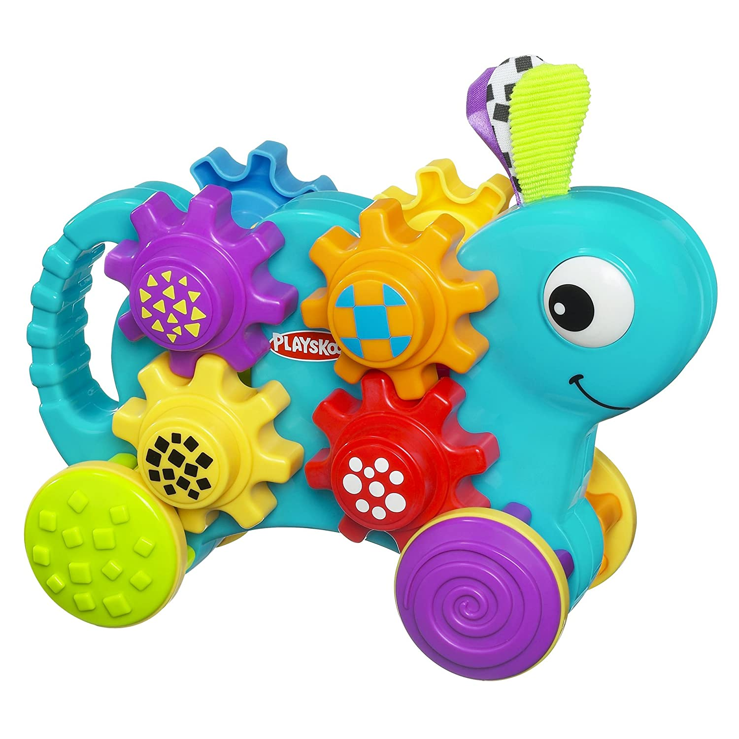 Amazon Playskool Push N Stack Gears Toys & Games