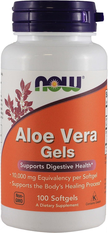 Aloe Vera 10000 mg 100 Softgels (Pack of 2)