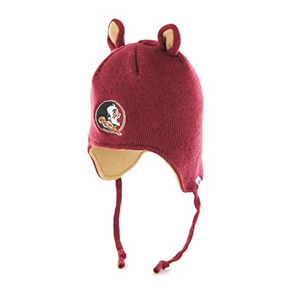 a6c2a97aeaa  47 NCAA Florida State Seminoles Toddler Little Monster Knit Hat with  Animal Ears and Ear