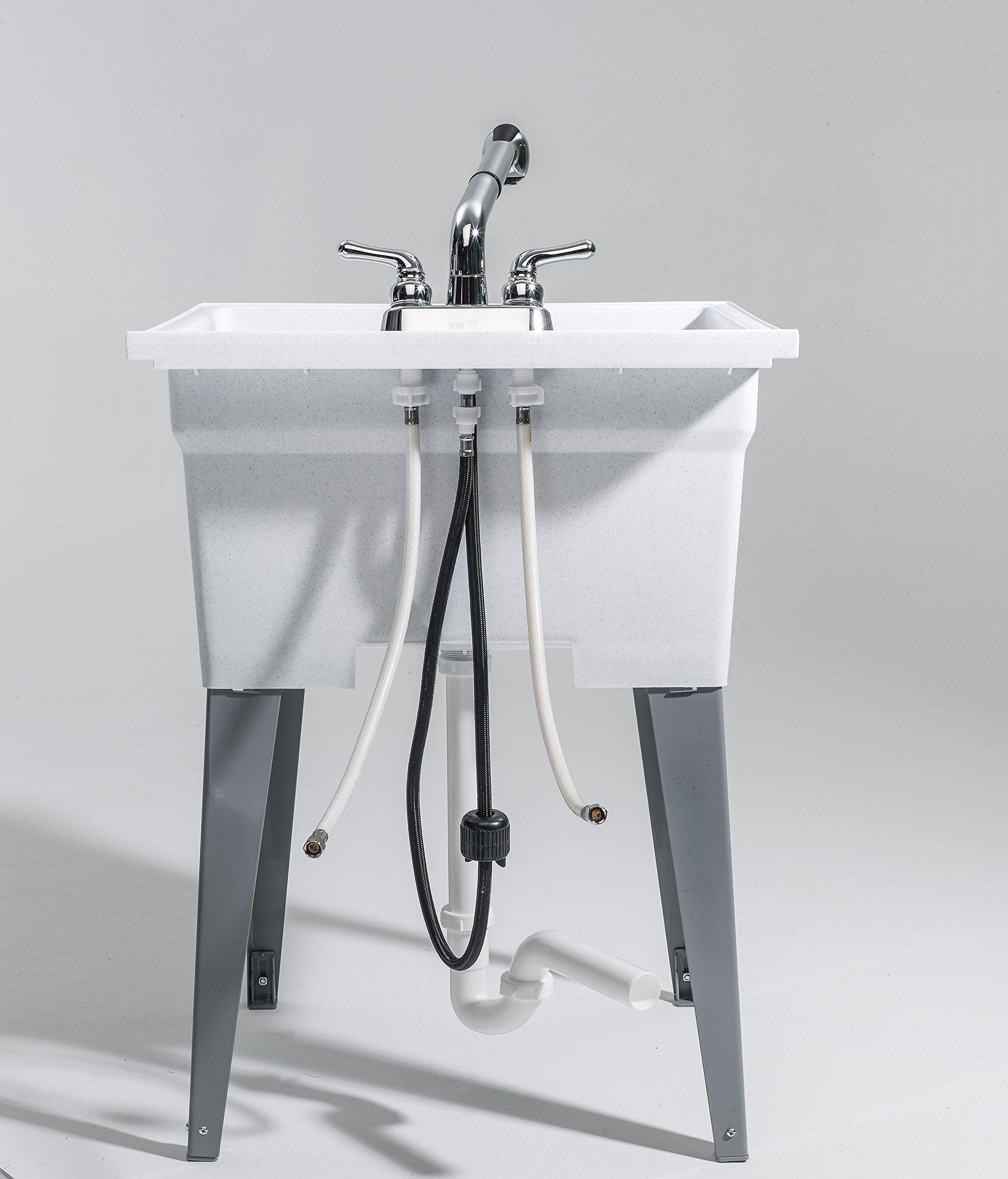 CASHEL 1960-32-02 Heavy Duty Sink - Fully Loaded Sink Kit, Granite by Cashel (Image #10)