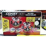 Coast HL7 Focusing 405 Lumen LED Headlamp 2 Pack