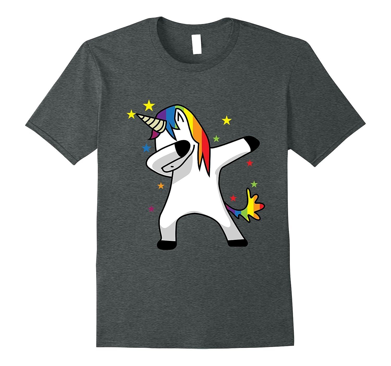 T shirt design hip hop - Dabbing Unicorn T Shirt Dab Hip Hop Funny Magic Rainbow Best Design T Shirt Moninom Com