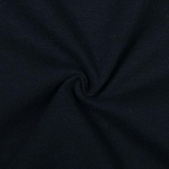 Blueleyu Lot de 4 bodies /à manches longues et col polo unisexe pour b/éb/é 100 /% coton