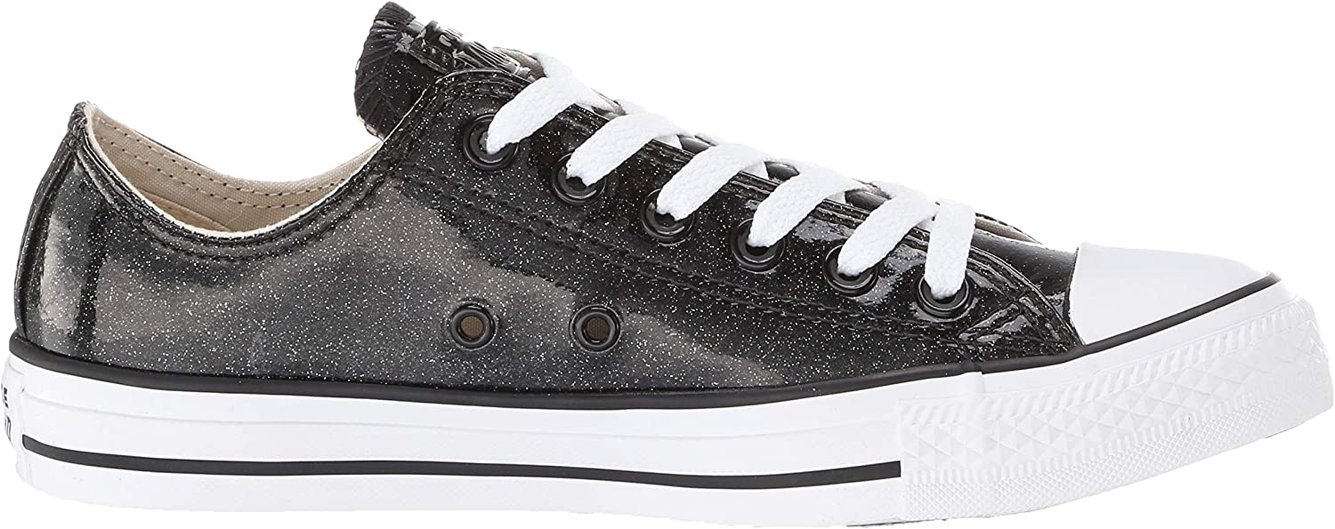 Converse All Star Chuck Taylor Ox, Basket Mixte Noir