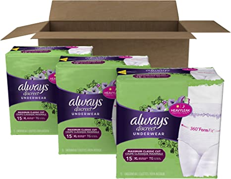 2015 Always Discreet Bladder Control Pads PRINT ADIncontinencePretty Women