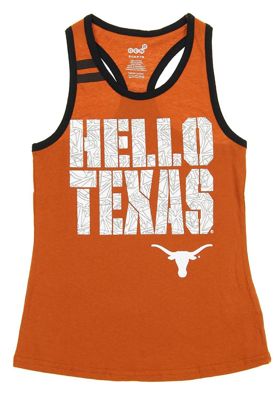 【当店限定販売】 Texas Longhorns Longhorns NCAA Youth Girlsプリンセスカットタンク、オレンジ L オレンジ Texas B0719F2G76 B0719F2G76, クオワークス--青木鞄OfficialShop:eed3c578 --- a0267596.xsph.ru
