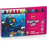 Cello ColourUp Wax Crayons -  12 Shades
