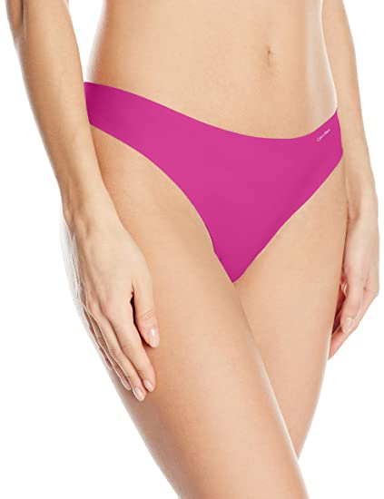 188cee8a0a Calvin Klein Women s Invisibles No Panty Line Thong at Amazon Women s  Clothing store