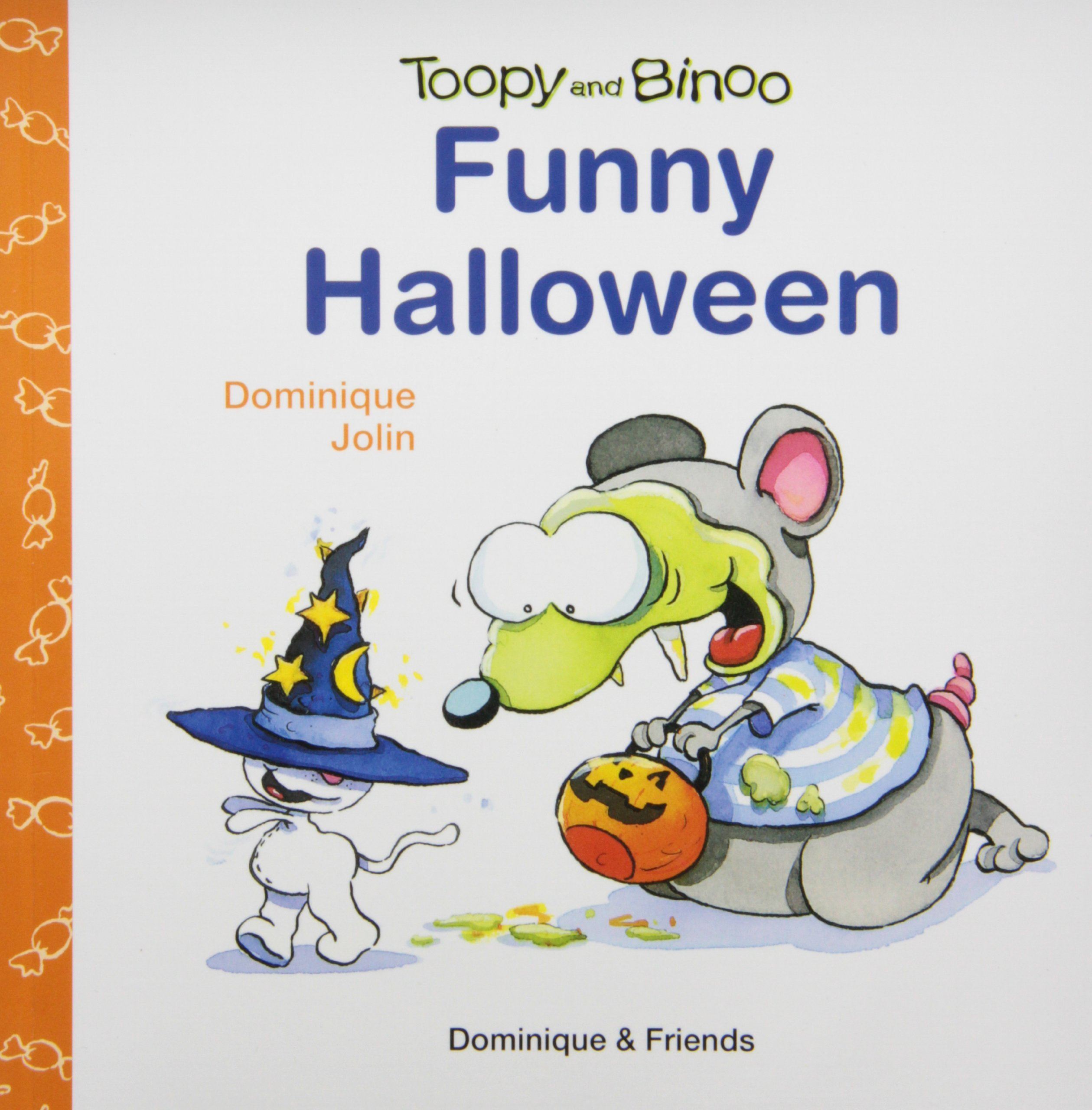 funny halloween toopy and binoo dominique jolin 9781553890133