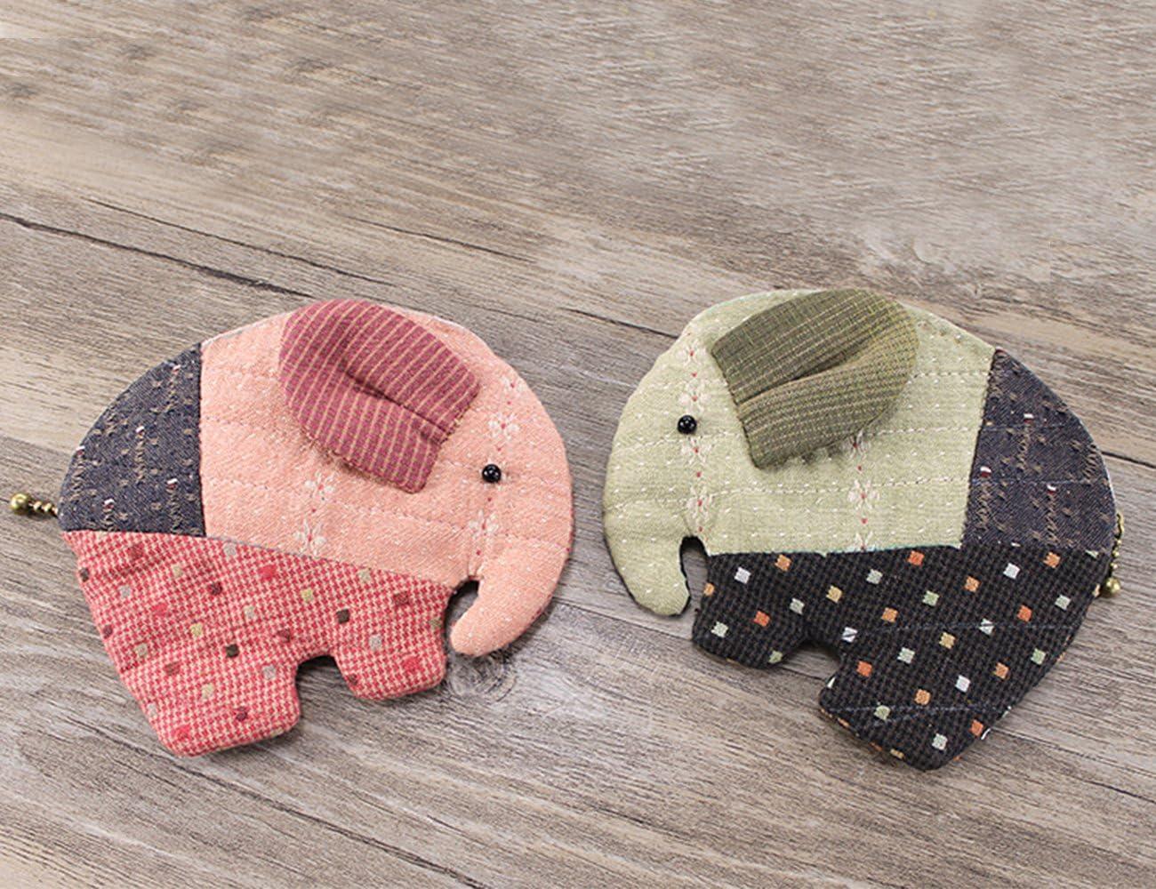 Adolescentes Niñas elefante cartera monedero para hacer fácil de ...