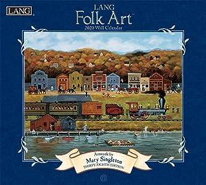 Lang Lang Folk Art 2020 Wall Calendar (20991001922)