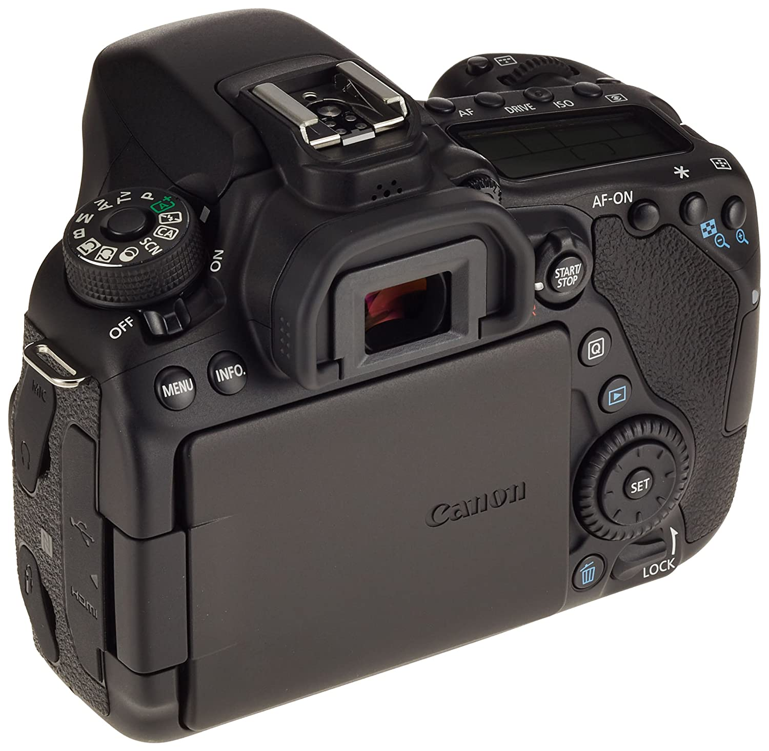 Canon EOS 80D 24.2MP CMOS 6000 x 4000Pixeles Negro: Amazon.es ...