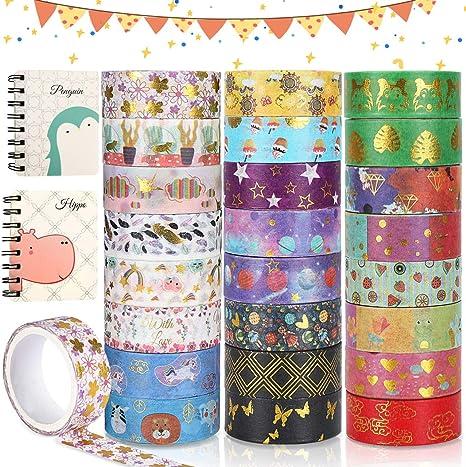 Britishtime 10 Rolls Washi Tape Set Children and Gifts Warpping