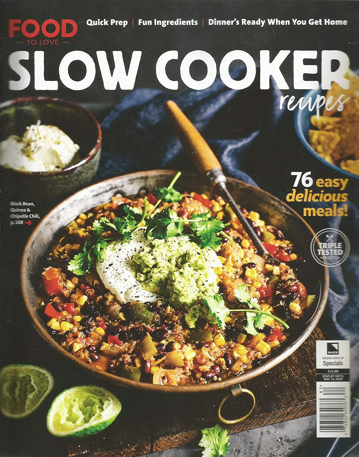 FOOD TO LOVE SLOW COOKER RECIPES SPECIAL ISSUE SPRING 2018