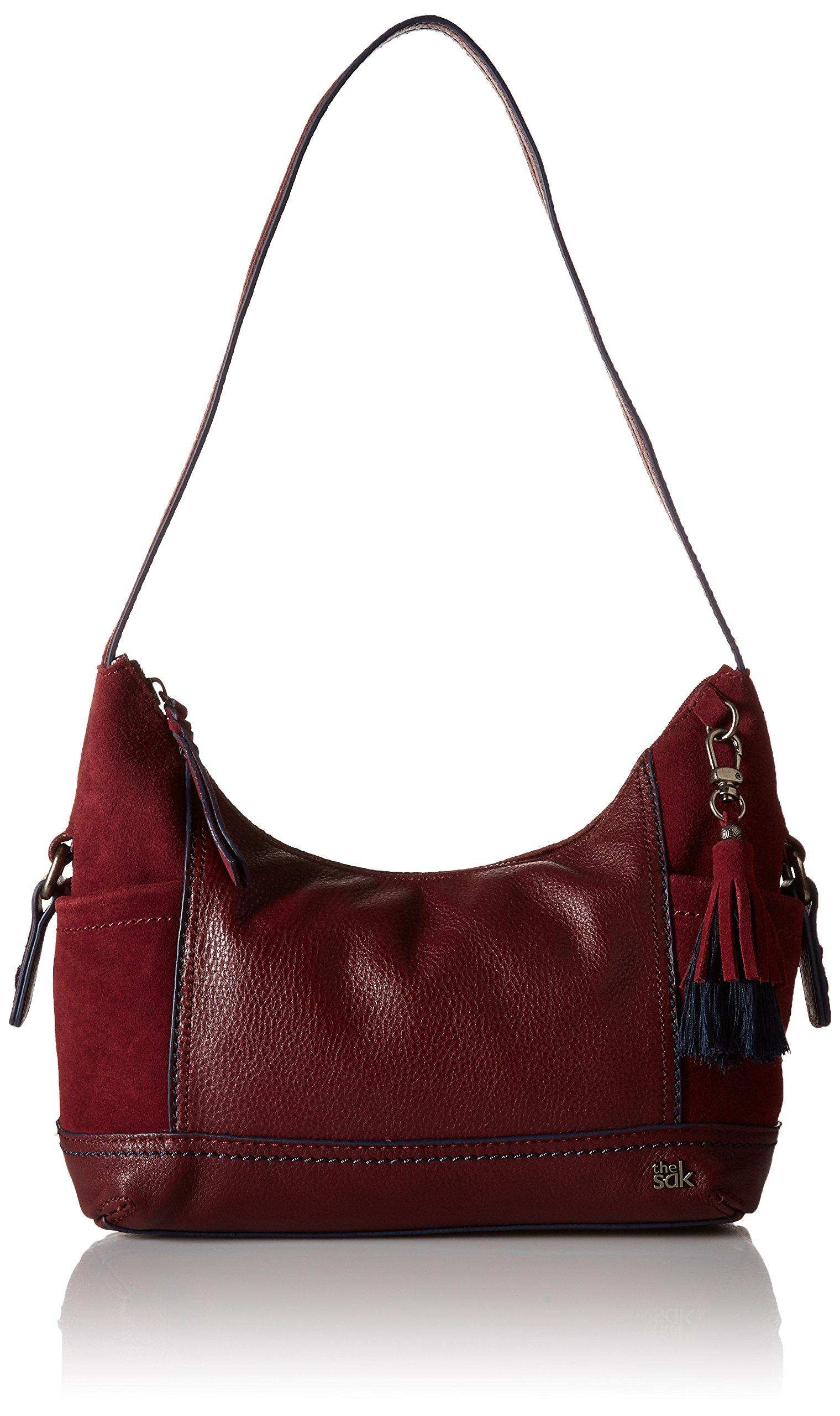 The Sak Kendra Hobo Shoulder Bag,Cabernet Block,One Size