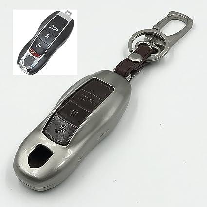 Porsche coche accesorios aleación de zinc y llavero de ...