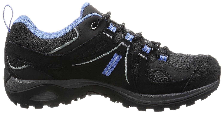 Salomon Women's Ellipse 2 GTX 7 W Hiking Shoe B00ZLN8JBI 7 GTX B(M) US Asphalt/Black/Petunia Blue 719014