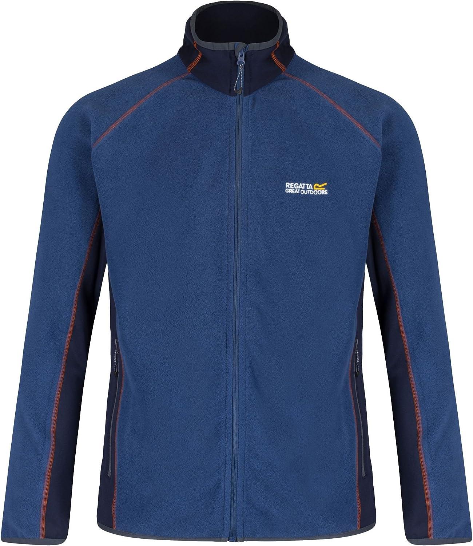 Regatta Great Outdoors Mens Ashton Full Zip Fleece Jacket