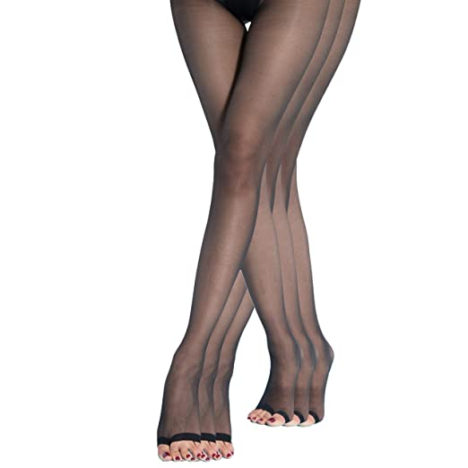 Women's Clothing Learned Fashion Women Sexy Crotch Sheer Thin Pantyhose Yarns Thigh-highs Stockings