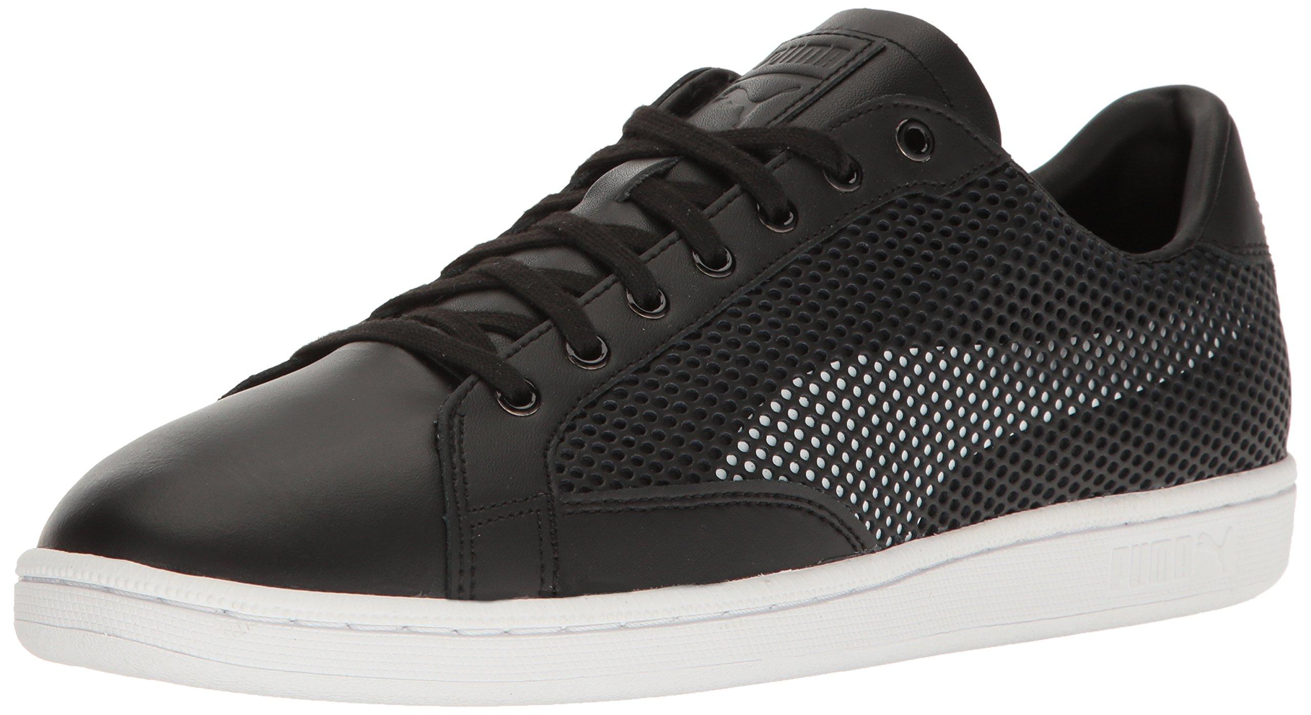 PUMA Men's Match 74 Summer Shade Fashion Sneaker, Black Whit, 9.5 M US