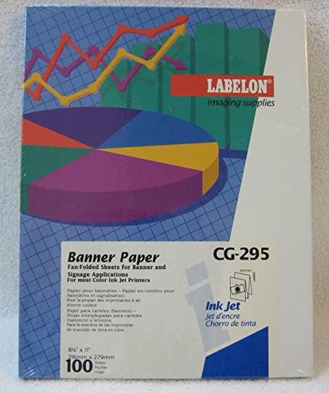 amazon com banner paper fan folded sheets for banner and signage