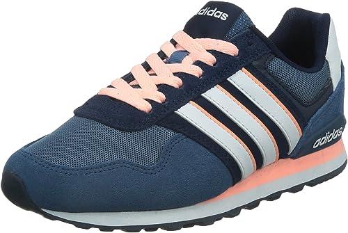 adidas Neo 10K W, Women's Low-Top Sneakers, Blue (Ash Blue S15-St ...