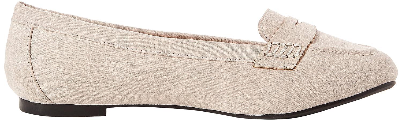 New Look Wide Foot Janna Mocasines Mujer, Gris (Mid Grey 4), 39 EU (6 UK): Amazon.es: Zapatos y complementos