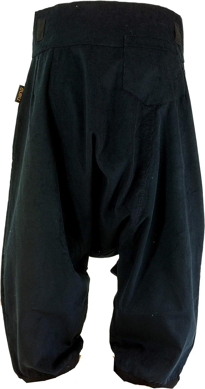 Pantaloni Boho Aladin Pantaloni a Coste Larghe GURU-SHOP Pantaloni Pluderhosen e Aladin Cotone